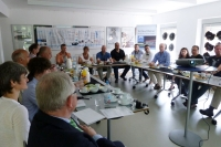 International Police Association at workshop at Museum Plagiarius Solingen