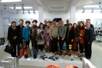 Chinese Delegation at Museum Plagiarius Solingen
