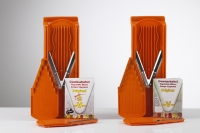 Plagiarius Prize winner 2008 - Original Boerner vegetable slicer (left) and plagiarism (right)
