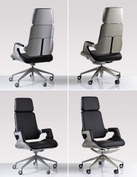 "Office Chair ""Silver"""